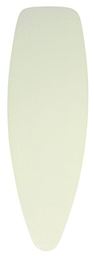 Brabantia Ironing Board Cover 53 x 18 Inch (Size D, Extra Large) with Foam Insert - Ecru