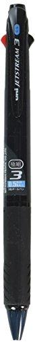 Uni Ballpoint Pen Jetstream 3 Color Black, Red, Blue Ink 0.5mm, Transparent Black (SXE340005T.24)
