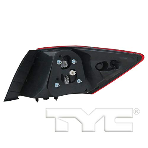 TYC 11-6840-00-1 Replacement Left Tail Lamp Compatible with Honda Accord