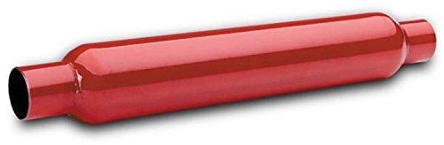 """Flowtech Muffler, 2.5"""" Red Hot Glasspack"""