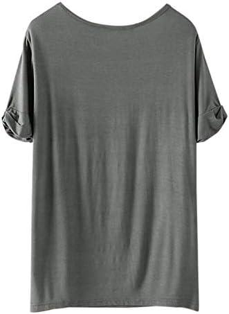 SheIn Women's Summer Short Sleeve Loose Casual Tee T-Shirt 4