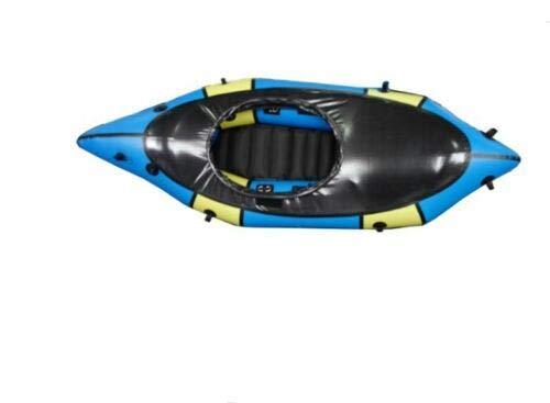 Inflatable Lightweight TPU White Water River Mini Micro PackRaft Kayak Canoe New