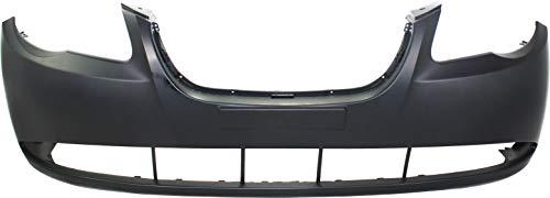 Front Bumper Cover Compatible with 2007-2010 Hyundai Elantra Primed Sedan