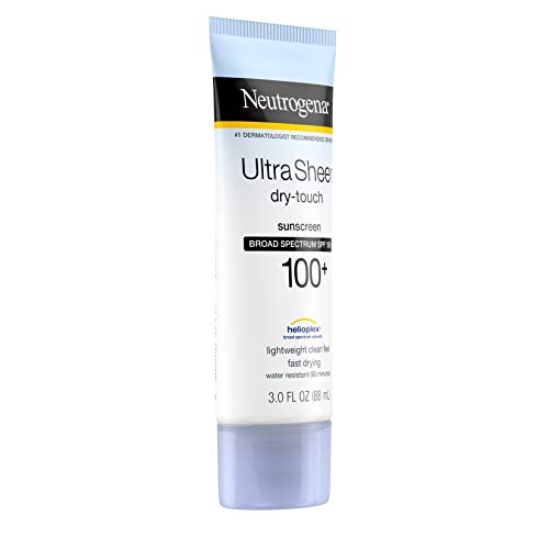 Neutrogena Ultra Sheer Dry-Touch Water Resistant and Non-Greasy Sunscreen Lotion with Broad Spectrum SPF 100+, 3 fl. oz 12