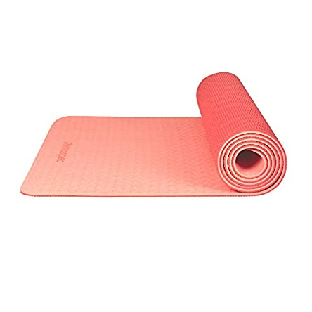 Retrospec Zuma Yoga Mat w/ Nylon Strap for Men &...