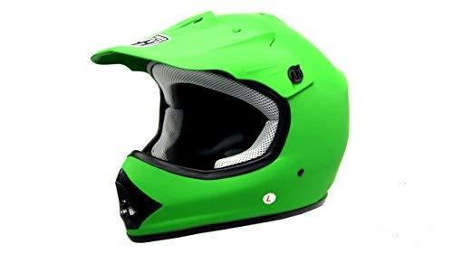 Smartdealsnow Dot Youth Kids Helmet For Dirtbike Atv Motocross Mx Offroad Motorcyle Street Bike Helmet Small Matte Green Buy Online In Sri Lanka Hard Head Helmets Products In Sri