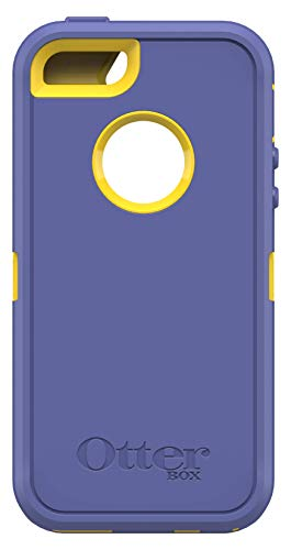 OtterBox Defender Series Case for Apple iPhone SE, iPhone 5s, iPhone 5 - (Case Only, No Holster) Non-Retail Packaging - Sienna Blue/Sun Yellow