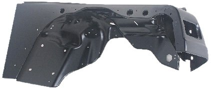 OE Replacement Jeep Wrangler/Sahara Front Passenger Side Fender Assembly (Partslink Number CH1241225)