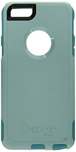 """OtterBox Commuter Series Case for Apple iPhone 6/6S 4.7"""" - Retail Packaging - Aqua Blue/Light Teal"""