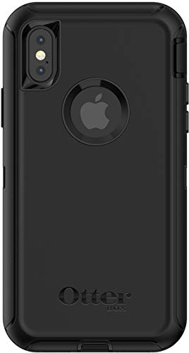 OtterBox Defender Series Case for iPhone Xs & iPhone X (Case Only - Holster Not Included) Non-Retail Packaging - Black