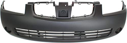 Front Bumper Cover Compatible with 2004-2006 Nissan Sentra Primed