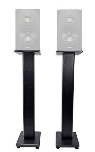 "(2) Rockville 36"" Studio Monitor Speaker Stands For ADAM Audio A7X Monitors"