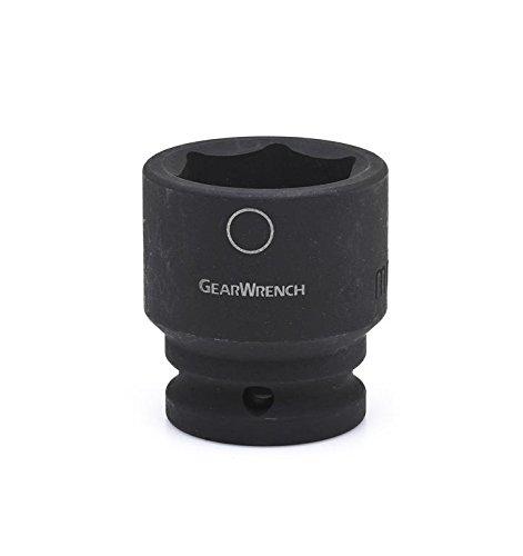 "GEARWRENCH 3/4"" Drive 6 Pt. Standard Impact Socket, 47mm - 84858"