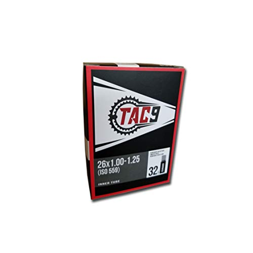 "TAC 9 Tube, 26"" x 1.00-1.25"" Regular Schrader Valve, 32mm (ISO/ETRTO 559)"