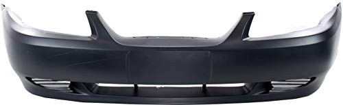Front Bumper Cover Compatible with 1999-2004 Ford Mustang Primed Base Model