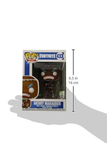 Funko Pop! Games: Fortnite - Merry Marauder Collectible Figure, Multicolor