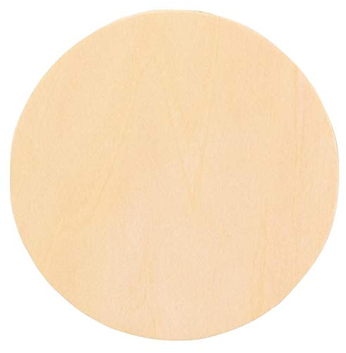 """Woodcrafter 3/4"""" Thick Baltic Birch Plywood Circle 12 Inch"""