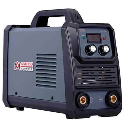 Amico ARC-160, 160 Amp Pro. Stick Arc DC Inverter Welder, 80% Duty Cycle, 100~250V Wide Voltage Welding Machine