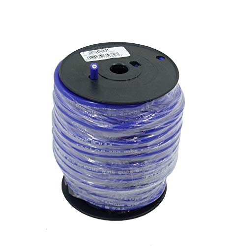Taylor Cable 35682 Blue 8mm 100' Pro TCW Plug Wire