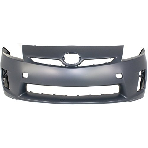 Front Bumper Cover Primed Compatible with 2010-2011 Toyota Prius