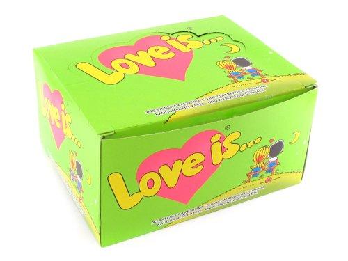 Bubble gum Love Is (Apple-Lemon)