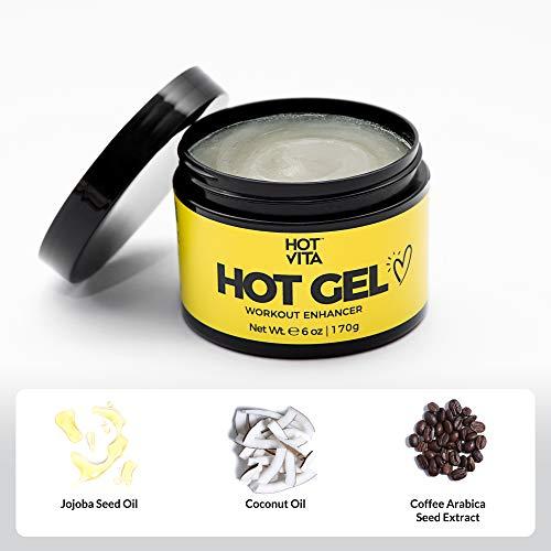 Hot Vita Hot Gel – Sweat Cream Workout Enhancer Belly Slimming Gel (6 oz) 5