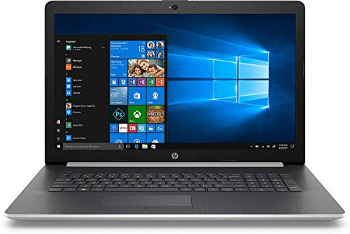 Newest HP 17.3″ HD+ SVA BrightView Display Premium Laptop, Intel Quad Core i7-8550U Processor Up to 4.0 GHz, 16GB Memory, 512GB SSD, DVD-RW, WiFi, HDMI, Windows 10, Silver