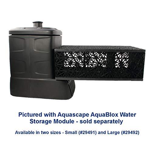 Aquascape 49000 Pondless Waterfall Pump Vault, Black