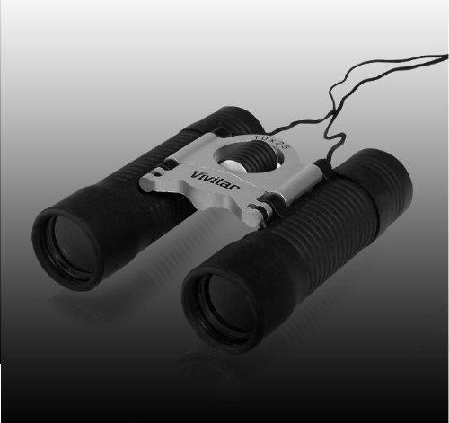 Vivitar CS1025H 10 x 25 Binocular (Black)