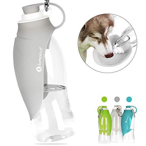 LumoLeaf Water Bottle for Dogs, Portable Dog Water Bottle, 20 Oz Pet Travel Water Bottle