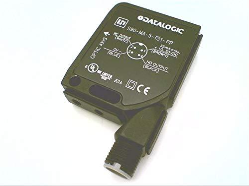 DATALOGIC S90-MA-5-T51-PP 15X50X41MM (956301040), M12 Connector, 1500MM Operating Distance, PNP Output, S90 Series, PHOTOELECTRIC Sensor, RETROREFLECTIVE, LED, 2V