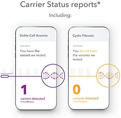 23andMe Health + Ancestry Service: Personal Genetic DNA Test Including Health Predispositions, Carrier Status, Wellness, and Trait Reports (Before You Buy See Important Test Info Below) 4