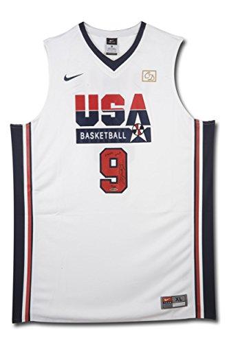 Michael Jordan Autographed Jersey - & Inscribed Nike 1992 Olympic - Upper Deck Certified - Autographed NBA Jerseys