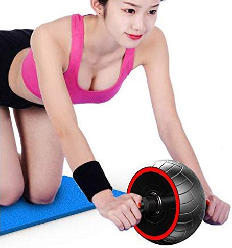 PEI Ab Roller Wheel - 3-in-1 Ab Wheel Roller with Knee Mat and Jump Rope - Ab Roller Wheel for Abdominal Exercise - Ab Workout - Home Workout Equipment - Abs Wheel Roller - Abs Roller 2020 New 4
