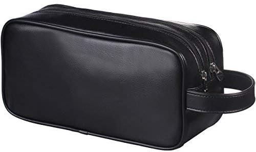 Happy David Leather Toiletry Bag