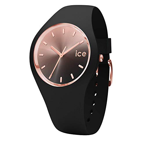 Ice-Watch Womens Analogue Quartz Watch with Silicone Strap 15748