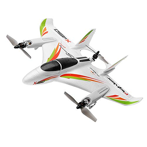 OUYAWEI WLtoys XK X450 6-Way Brushless Vertical Takeoff / Landing Fixed-Wing Airplane Aircraft
