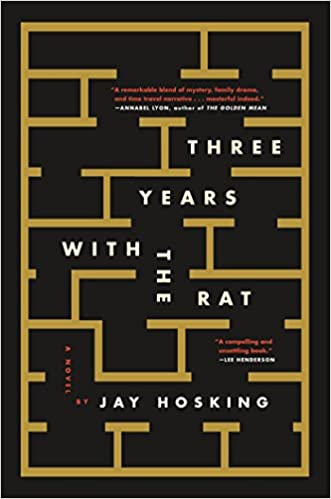 Book cover for Three Years with the Rat by Jay Hoskin