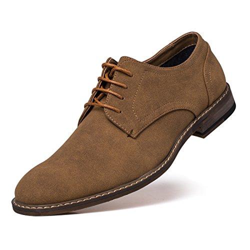 کفش مجلسی مردانه جیوانا Suede Oxford Lace Up
