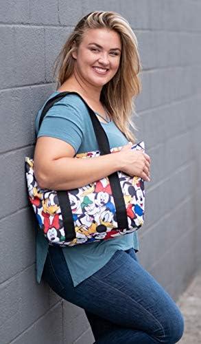 Disney Tote Travel Bag - Choose Mickey Mouse Minnie Donald Goofy Pluto Star Wars