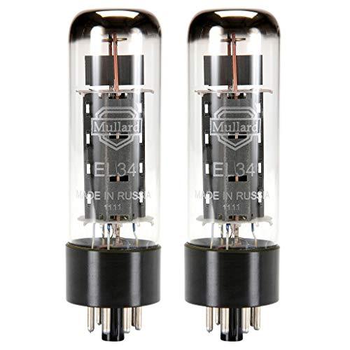 Mullard Reissue EL34 Power Vacuum Tube, Matched Pair
