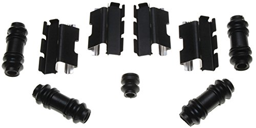 ACDelco 18K831X Professional Front Disc Brake Caliper Hardware Kit with Clips, Seals, and Bushings