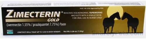 Merial Zimecterin Gold Dewormer Paste for Horses