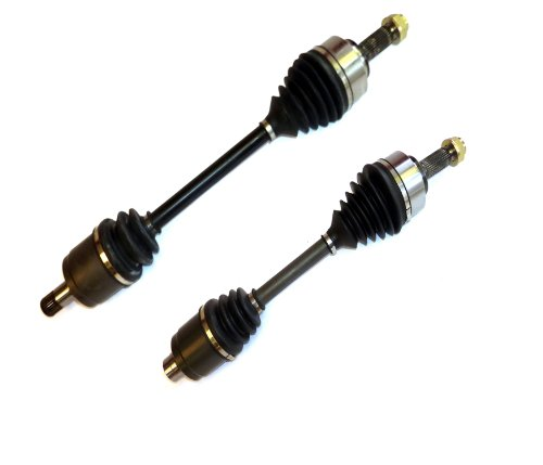 DTA HO23412326 Front Left Right Pair - 2 New Premium CV Axles (Drive Axle Assembly) Compatible with 2007-2010 Honda Odyssey