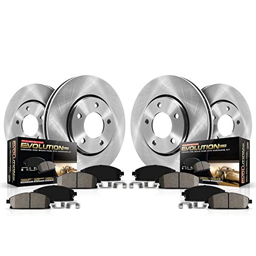 Autospecialty (KOE126) 1-Click OE Replacement Brake Kit