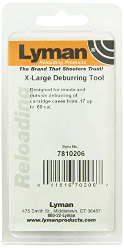 Lyman Reloading Extra Large Deburr Tool (.17 to 0.6 Caliber)