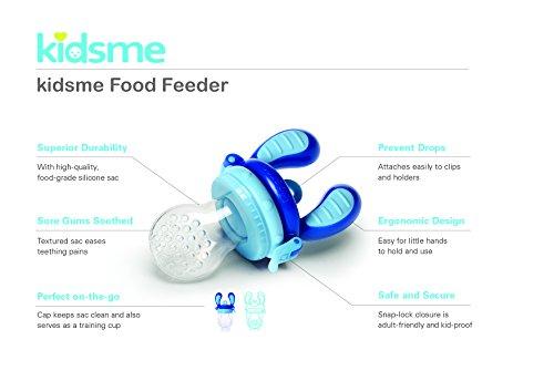 Kidsme Food Feeder, Large, Blue