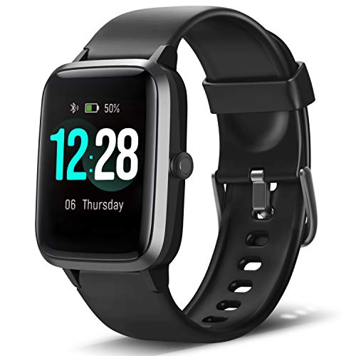 LETSCOM Smart Watch Fitness Tracker Heart Rate Monitor Step Calorie Counter Slee calorie Featured fitness heart letscom monitor rate smart step tracker watch