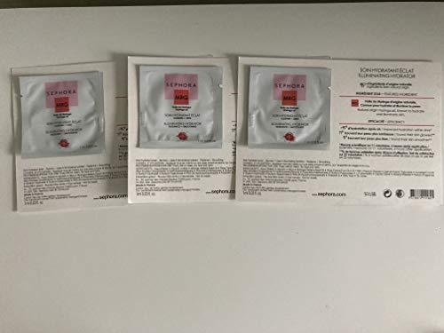 SEPHORA COLLECTION Illuminating Hydrator - Radiance + Smoothing, Set of 3 Travel Packets