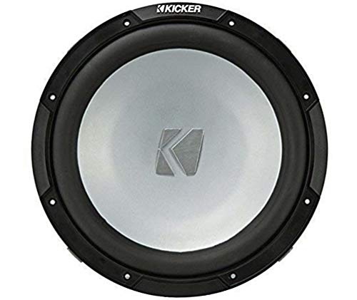Kicker KM10 10-inch (25cm) Weather-Proof Subwoofer for Enclosures, 4-Ohm